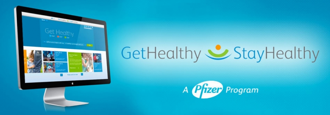 Pfizer Get Health Stay Healthy